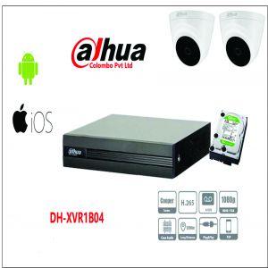 Bộ camera DAHUA 2 mắt giá rẻ, hàng chính hãng