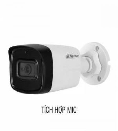 Camera HDCVI 2MP DAHUA DH-HAC-HFW1200TLP-A-S5 tích hợp mic
